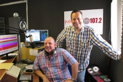 David popped in to get some hints and tips from Stuart Rodgers
