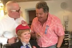 The Krankies popped in for a wee trim