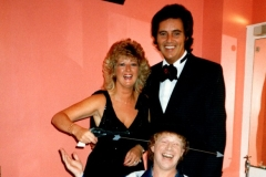 TT with his special guests - singer Ann Williamson and comic Eddie Devine at the Beach Pavillion, Girvan