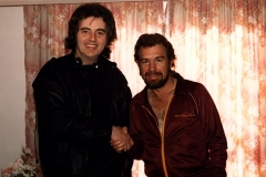 Tommy Truesdale and US country star Gene Watson