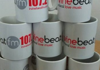 Win an Irvine Beat FM Mug with The TV Theme Tune Competition