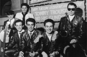 Tommy Truesdale and the Sundowners. Resident Group, Tuesdays, Bobby Jones Ballroom. 1965