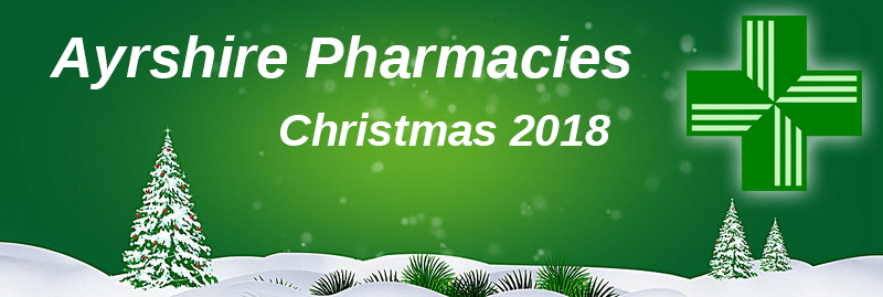 Ayrshire Pharmacies Opening Christmas 2018