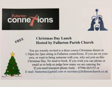 Fullarton ConneXions Christmas Dinner