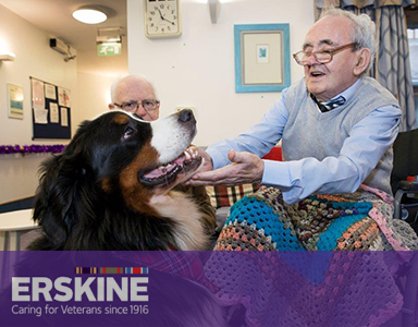 Could You Volunteer to Support Erskine's Veterans in 2019?