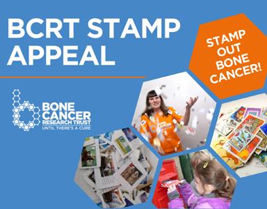BCRT Stamp Appeal – Bone Cancer Fundraiser 2019