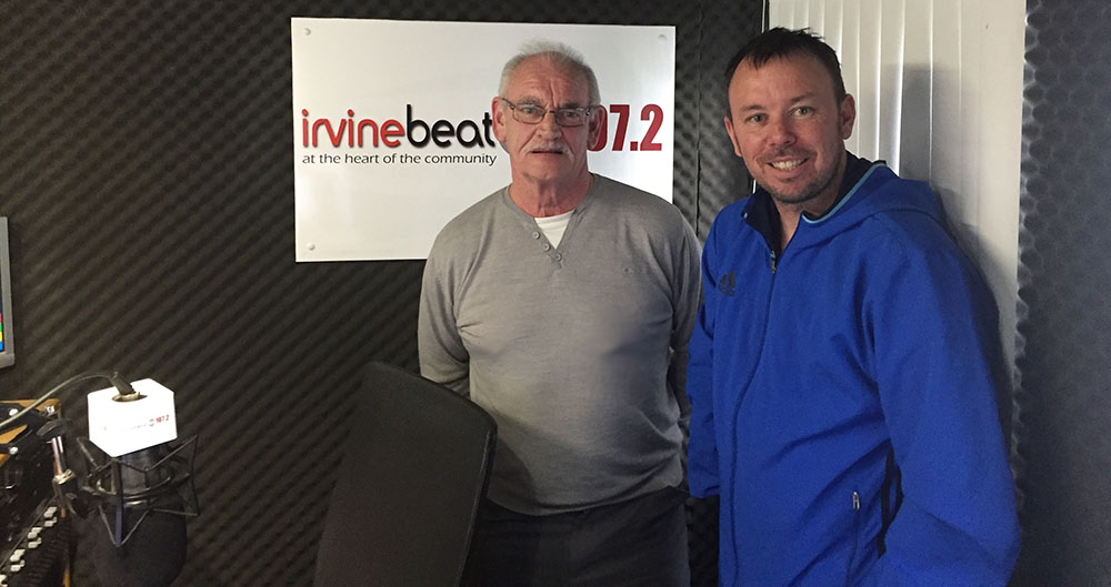 Tommy & Craig from the Irvine Walking Football group