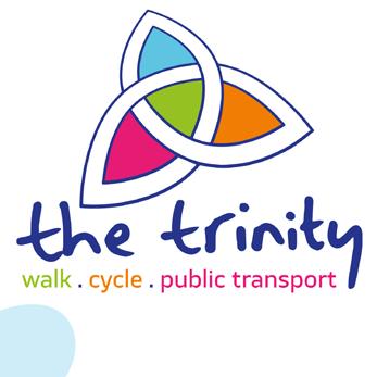 Trinity Active Travel Hub Logo