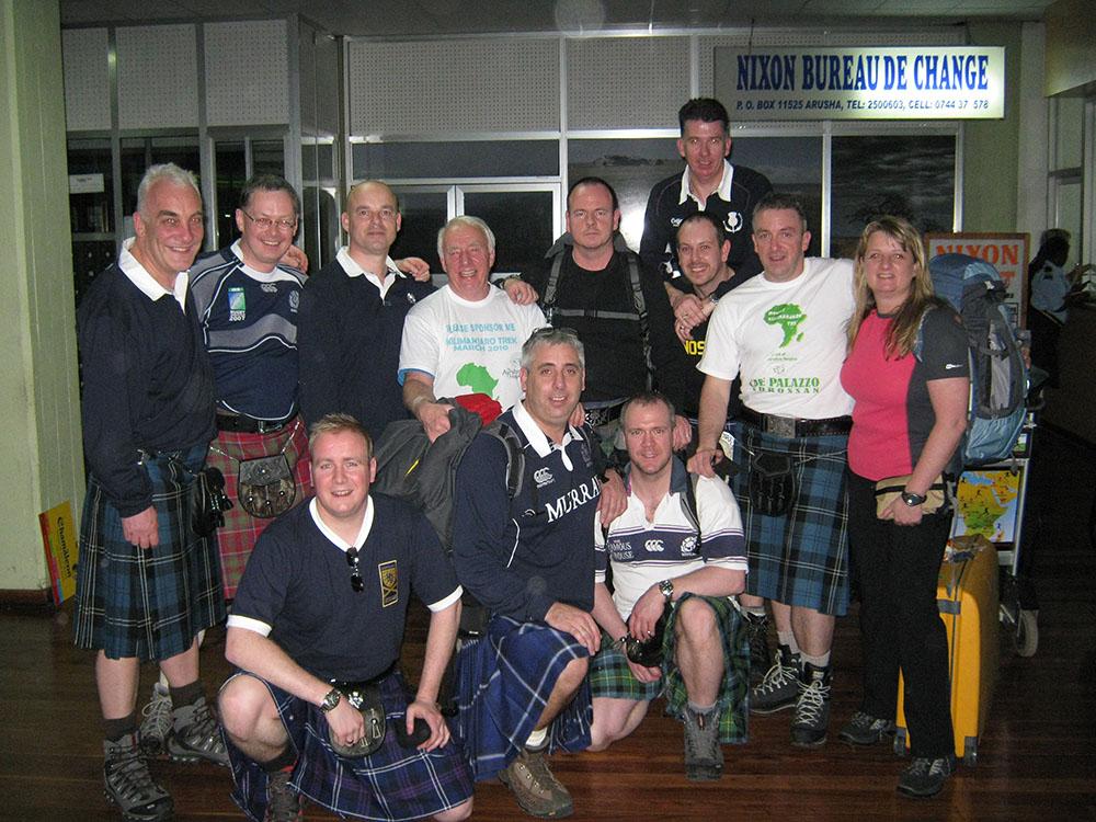 Kilimanjaro Group - Raising Money For Ayrshire Hospice