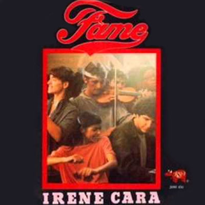Irene Cara - Fame 1982. Single cover