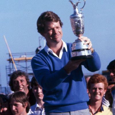 The Open - Troon 1982. Tom Watson winner.