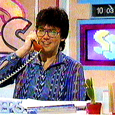 Mike Reid on Saturday Superstore 1982