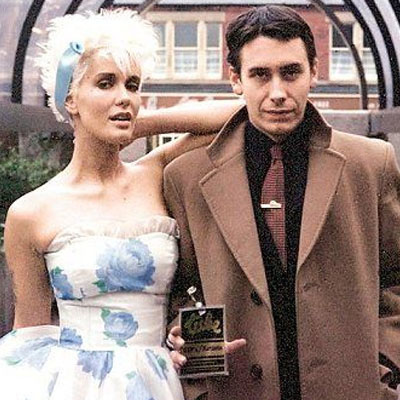 The Tube - 1982. Jools Holland and Paula Yates