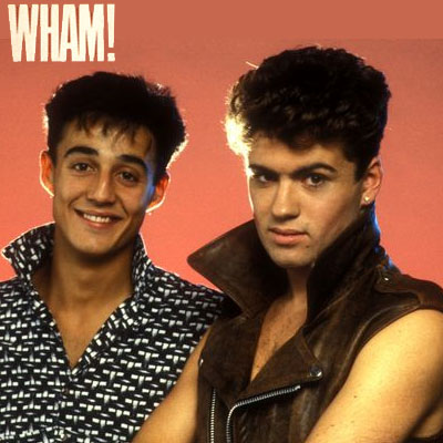 Wham, early picture from 1982.