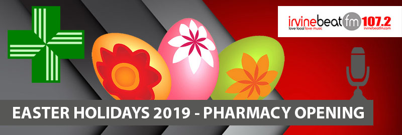 Pharmacies Open Easter 2019 - Ayrshire