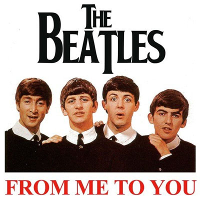 The Beatles - From Me To You (single)